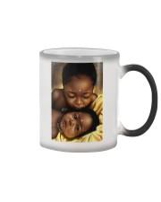Black Love Poster - 7 Color Changing Mug thumbnail