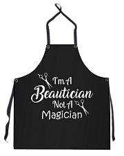 I'm A Beautician Not A Magician Apron front