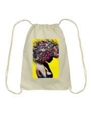 Black Love Poster - 9 Drawstring Bag thumbnail