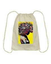 Black Love Poster - 9 Drawstring Bag tile