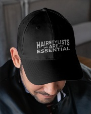 Hairstylists are essential Embroidered Hat garment-embroidery-hat-lifestyle-02
