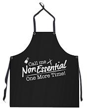 Call Me Non Essential - Nail Tech 2020 Apron Apron front