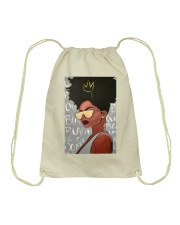Black Love Poster - 3 Drawstring Bag tile