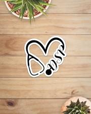 Nurse Heart-DSP-Sticker Sticker - Single (Horizontal) aos-sticker-single-horizontal-lifestyle-front-07