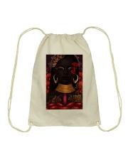 Black Love Poster - 8 Drawstring Bag thumbnail