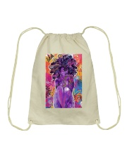 Black Love Poster - 6 Drawstring Bag thumbnail