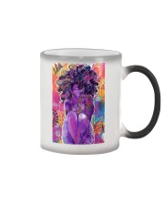 Black Love Poster - 6 Color Changing Mug thumbnail