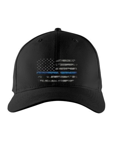 THIN BLUE LINE AMERICAN FLAG