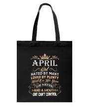 Vic Apr Girl Tote Bag thumbnail
