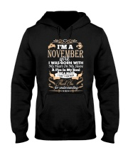TD nov girl Hooded Sweatshirt thumbnail