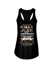 TD jun girl Ladies Flowy Tank thumbnail