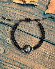 German shepherd bracelet Cord Circle Bracelet aos-bracelet-cord-front-lifestyle-4