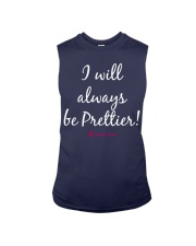 I Will Always be Prettier than Diabetes Sleeveless Tee front