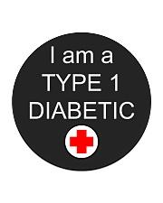 Diabetic Awareness Circle Coaster thumbnail