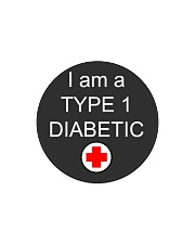 Diabetic Awareness Circle Magnet thumbnail
