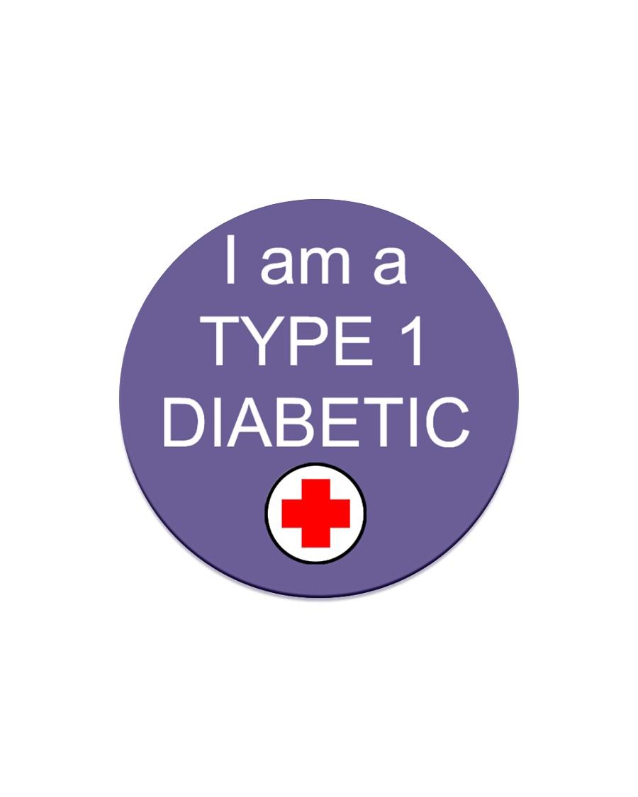 Diabetic Awareness Circle Magnet
