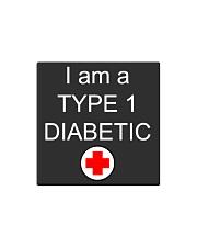 Diabetic Awareness Square Magnet thumbnail