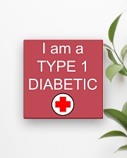 Diabetic Awareness Square Magnet aos-magnets-square-front-lifestyle-4