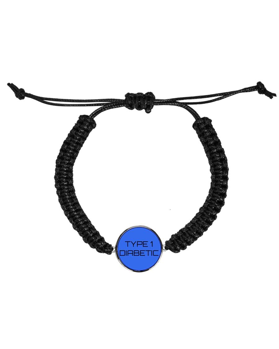 Type 1 Diabetic Jewelry Cord Circle Bracelet