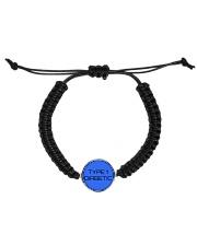 Type 1 Diabetic Jewelry Cord Circle Bracelet front