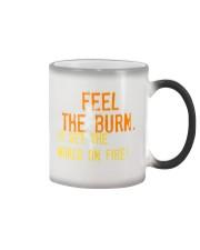 Feel the Burn Go Set the World on Fire  Color Changing Mug thumbnail