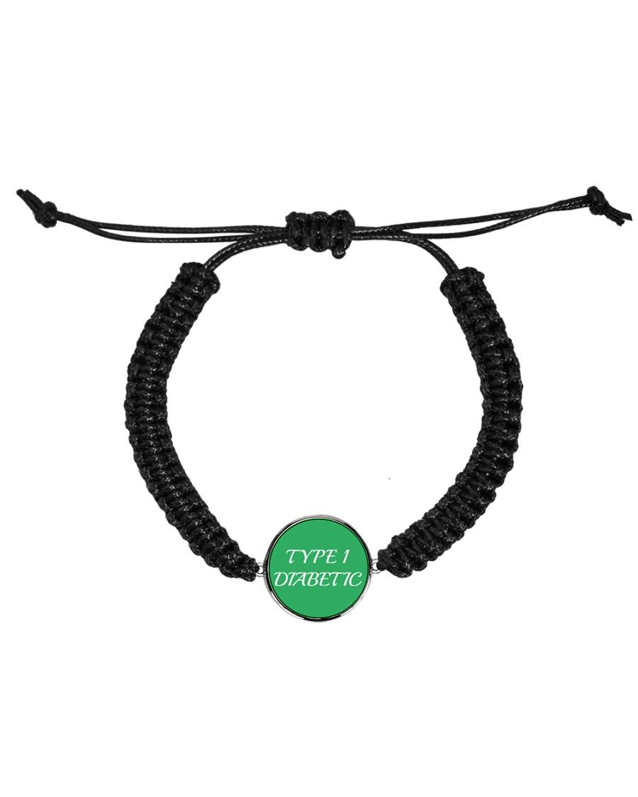 Type-1 Diabetic Jewelry Cord Circle Bracelet