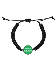 Type-1 Diabetic Jewelry Cord Circle Bracelet front