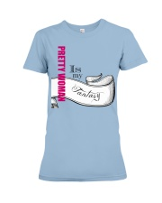 Pretty-Betes is Reality Premium Fit Ladies Tee front