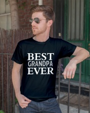 Best GRANPA ever Classic T-Shirt lifestyle-mens-crewneck-front-2
