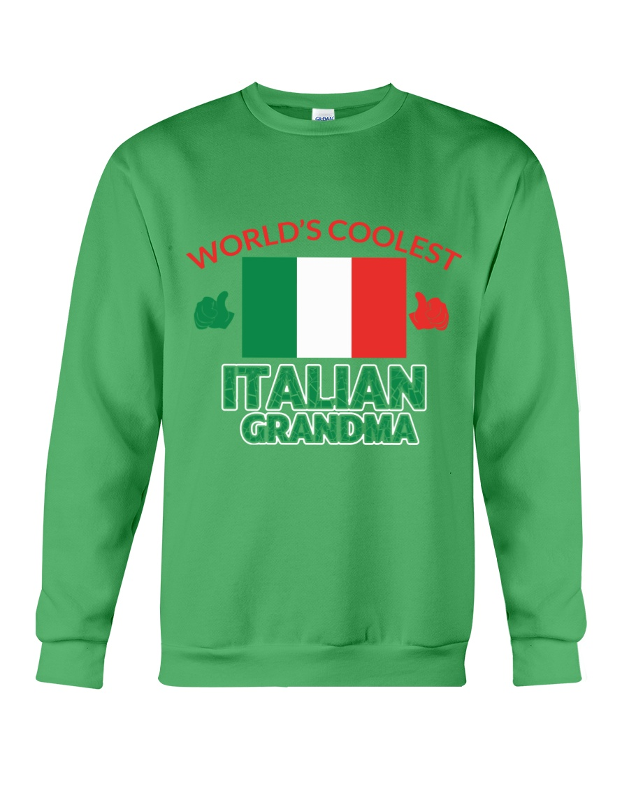 World coolest Italian Grandma Crewneck Sweatshirt