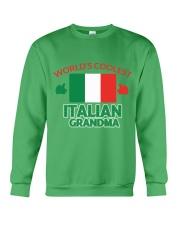 World coolest Italian Grandma Crewneck Sweatshirt front