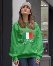 World coolest Italian Grandma Crewneck Sweatshirt lifestyle-unisex-sweatshirt-front-1