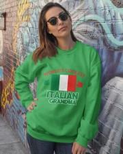 World coolest Italian Grandma Crewneck Sweatshirt lifestyle-unisex-sweatshirt-front-3