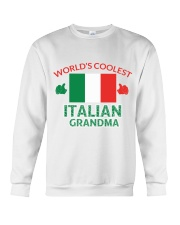 World coolest Italian Grandma Crewneck Sweatshirt thumbnail