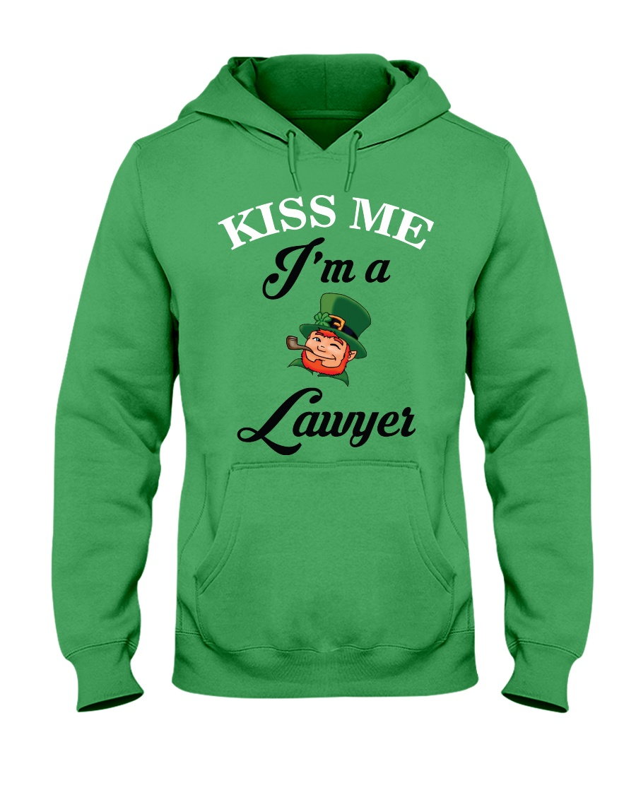 Kiss Me I'm A Lawyer Hooded Sweatshirt