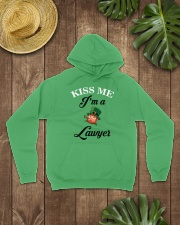 Kiss Me I'm A Lawyer Hooded Sweatshirt lifestyle-unisex-hoodie-front-7