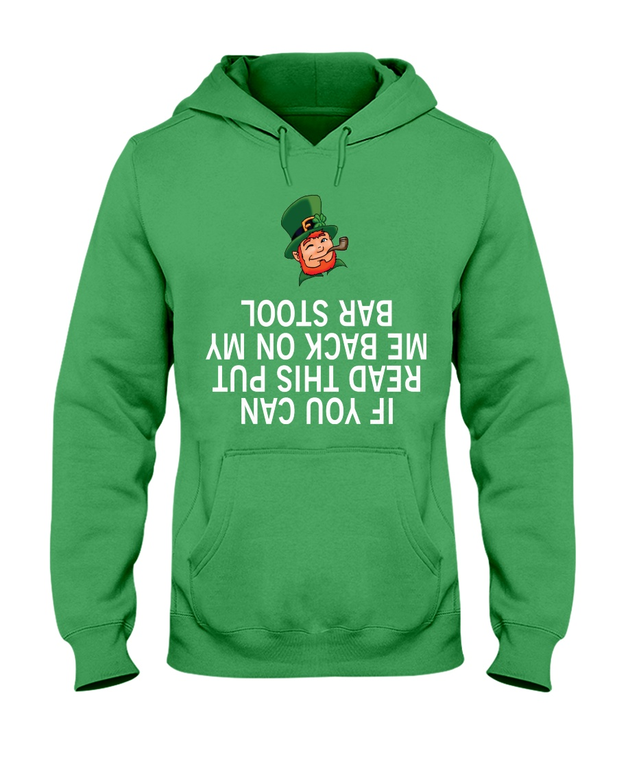 Bar Stool Hooded Sweatshirt showcase