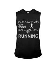 Some grandmas play bingo Real grandmas go running Sleeveless Tee thumbnail