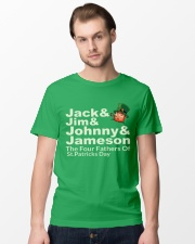The Four Fathers of St Patricks Day Classic T-Shirt lifestyle-mens-crewneck-front-15