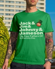 The Four Fathers of St Patricks Day Classic T-Shirt lifestyle-mens-crewneck-front-8