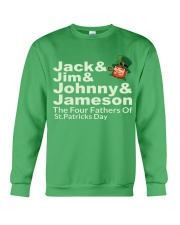 The Four Fathers of St Patricks Day Crewneck Sweatshirt thumbnail