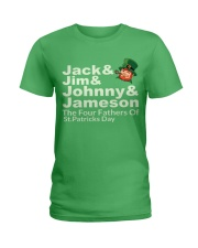 The Four Fathers of St Patricks Day Ladies T-Shirt thumbnail