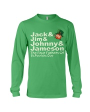 The Four Fathers of St Patricks Day Long Sleeve Tee thumbnail