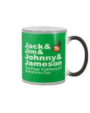 The Four Fathers of St Patricks Day Color Changing Mug thumbnail