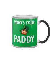 Who's Your Paddy Color Changing Mug thumbnail