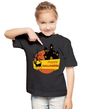 KIDS HALLOWEEN T-SHIRT Youth T-Shirt lifestyle-youth-tshirt-front-2