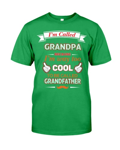 I am called grandpa