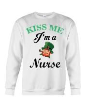 Kiss Me I Am A Nurse Crewneck Sweatshirt thumbnail