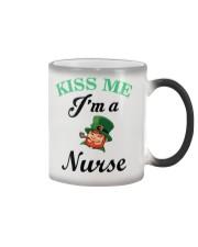 Kiss Me I Am A Nurse Color Changing Mug thumbnail