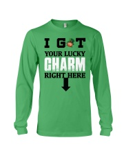 Your Lucky Charm Long Sleeve Tee front